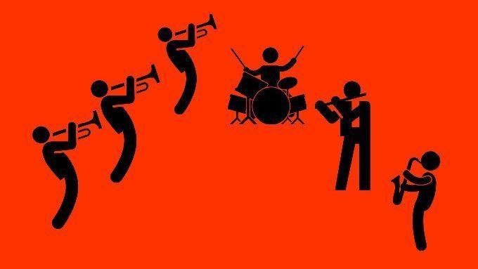 L'orchestre de cuivres hors les murs en juin